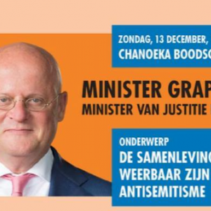 Maccabi Special Event met Minister Grapperhaus