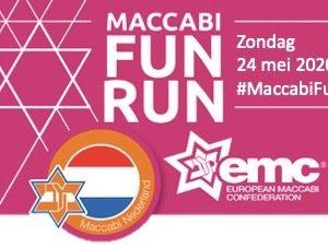 #MaccabiFunRunOnline 24 Mei 2020